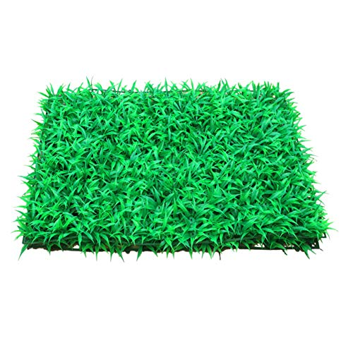 Clôture Artificielle d'herbe De Haie,Plante Hang Grass Flower Leaf Hedge Privacy Hedge Fence Screening Outdoor Wall Decor Garden-a 40x60cm(15.7x23.6inch)