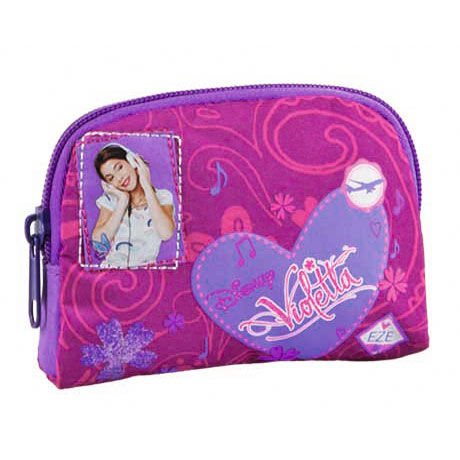 Monedero Violetta Disney corazon