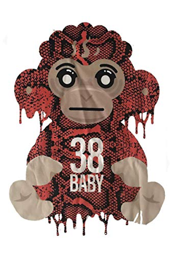 Youngboy Never Broke Again Colorful Monkey Gear 38 Baby Merch NBA Classic T Shirt Notebook: (110 Pages, Lined, 6 x 9)
