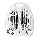 AJH Radiateur soufflant Chauffage électrique 2000W Mini radiateur Portable avec Thermostat réglable Protection Contre la surchauffe Économisez de l'énergie en Silence