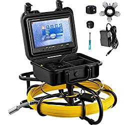 top rated Mophorn Sewage Camera 300'Pipeline Inspection Camera 9'LCD Color Monitor Tube… 2021