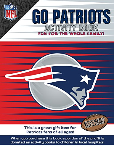 In The Sports Zone NFL New England Patriots Activity Book/Blue/Red/One Size