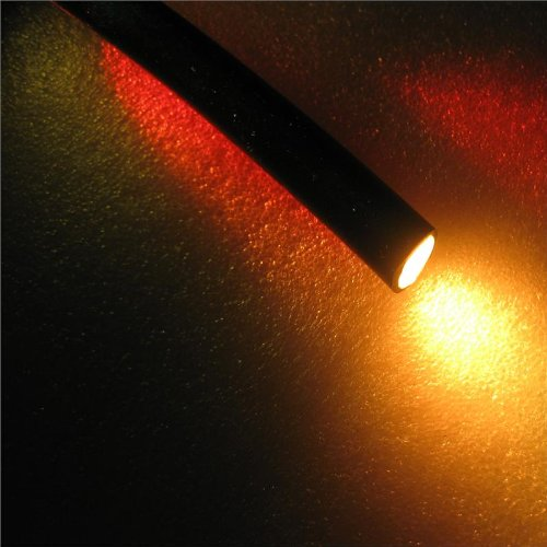 10' 8mm Fiber Optic Solid Core End Glow Cable Core Diameter 8.0mm...