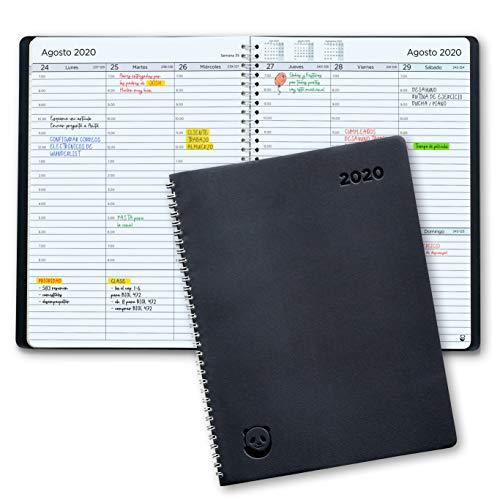 Agenda 2020 con Vista Semanal – Planificador 2020 Semana Vista – Diario...