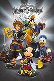 Disney Kingdom Hearts Classic - Póster (61 x 91,5 cm), diseño de corazones
