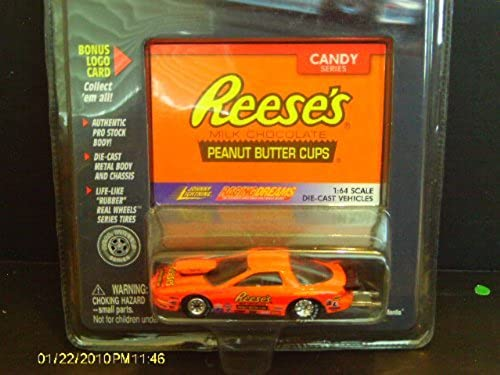 Reeses Milk Chocolate Johnny Lightning Racing Dreams Candy Series by Racing Dreams Johnny Lightning