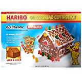Haribo Goldbears Gingerbread Cottage Kit 2lbs (907g), 1 Pack