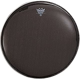 Remo KS0614-00 Black Max Marching Snare Batter Drum Head (14-Inch)
