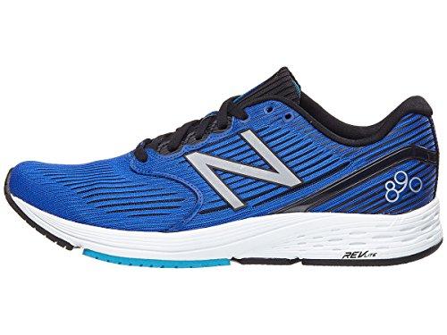 New Balance Men's 890 V6 Running Shoe, Pacific/Maldives Blue, 7 D US