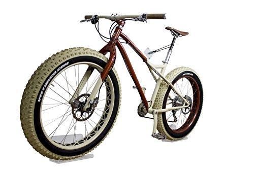 trelixx Fahrradwandhalterung Fatbike   Acrylglas   platzsparende Fahrradaufbewahrung   großartiges Design   leichte Montage   perfekt geeignet für Ihr Fatbike