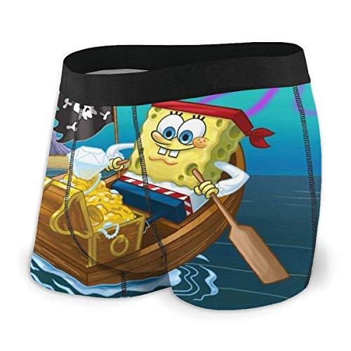 erjing Spongebob Herren Boxershorts bieten den ganzen Tag Komfort atmungsaktiv und leicht