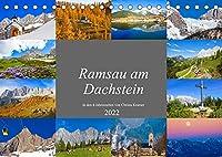 Ramsau am Dachstein (Tischkalender 2022 DIN A5 quer): Impressionen von der Ramsau am Dachstein (Monatskalender, 14 Seiten )