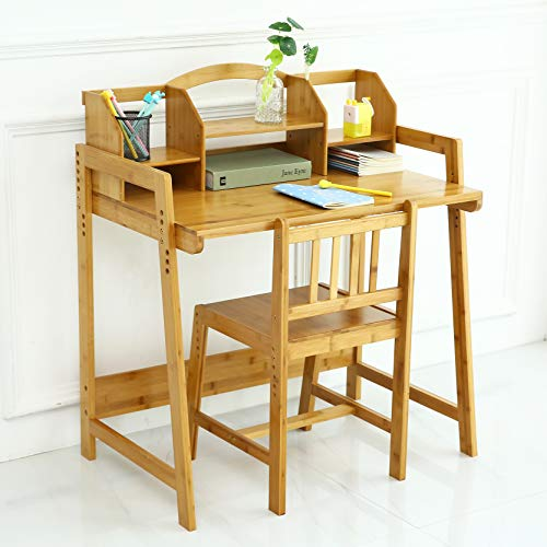 cute wooden desk and chair for kids