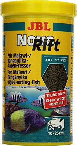 JBL NovoRift 30295 Alleinfutter für aufwuchsfressende Buntbarsche, Sticks 1 l