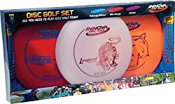 professional Innova Disc Golf Set – Drivers, Middle Class, Clubs, Comfortable DX Heads, Colors May Be Different (3 Packs)
