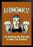 Poster Gießerei Wirtschaft. im Trinken My Way in Einem