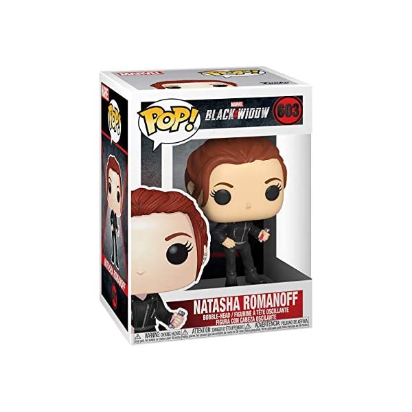 Funko Pop Natasha Romanoff (Black Widow 603) Funko Pop Black Widow