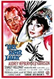 Film My Fair Lady Hepburn Harrison Poster Metall