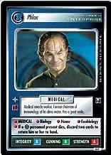 Decipher Star Trek CCG 1E Enterprise Collection FOIL Phlox 54P
