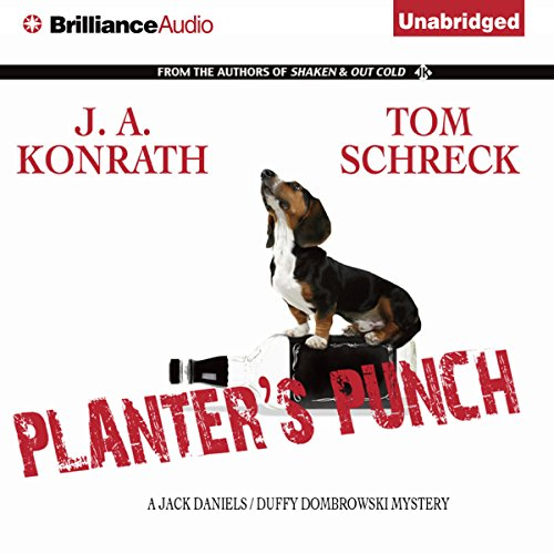 Planter's Punch audiobook cover art