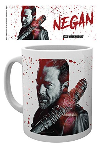 empireposter Walking Dead - Negan Blood - Keramik Tasse - Größe Ø8,5 H9,5cm