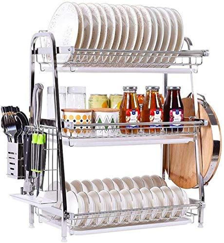 XXT Égoutter Bol en acier inoxydable rack Le bol Mettre empilable sur rack de cuisine multifonctions Arts de la table Boîte de rangement