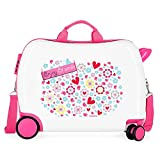 Movom Happy Time Valise Enfant Multicolore 50x38x20 cms Rigide ABS Serrure à combinaison 34L 2,1Kgs 4 roues Bagage à main