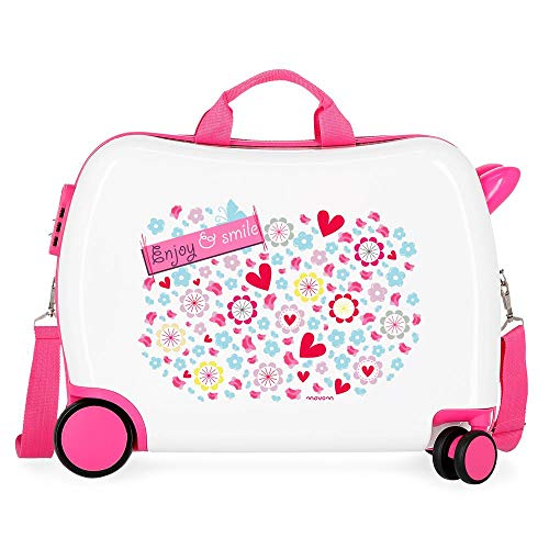 Movom Happy Time Valise Enfant Multicolore 50x38x20 cms...