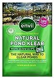 Envii Natural Pond Klear - Nettoyeur d'étang qui élimine l'eau verte et trouble (traite 20,000 litres)