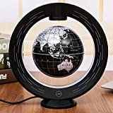 FEE-ZC Explore The World Bluetooth Audio Magnetic Levitation Globe Glowing Rotation Office Decoration