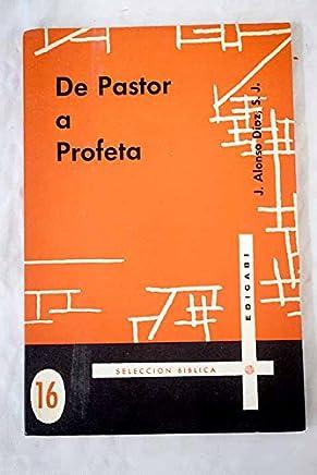 De pastor a profeta: (La figura de Amós dentro del movimiento profético y su influencia religiosa)