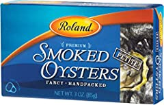 Smoked Oysters are carefully harvested from pacific waters Petite smoked oysters are carefully harvested from Pacific waters They are smoked and packed without shells They have a dark brown color, mild flavor and firm, not chewy texture Can be served...
