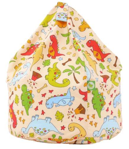 Cotton Dinosaur Bean Bag Child Size