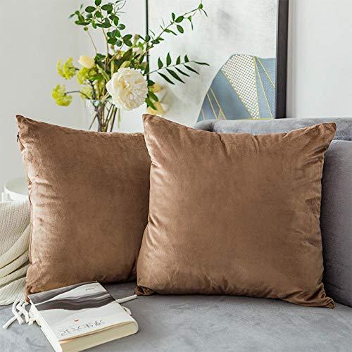 N_A Pillow Cushion Sofa Cushion-Amber_30 * 50Cm
