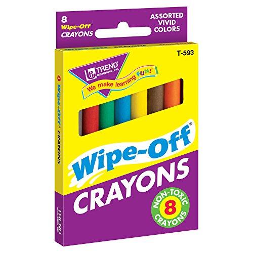 8-Pack Regular Wipe-Off® Crayons