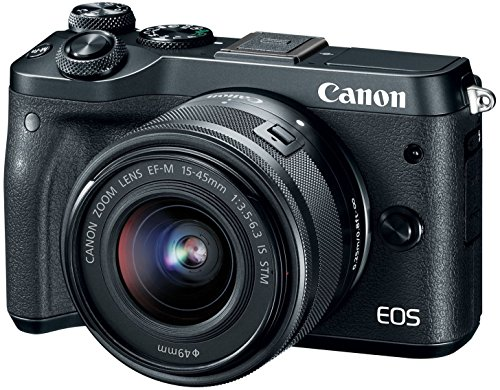 Canon EOS M6 (Black) EF-M 15-45mm f/3.5-6.3 IS STM...