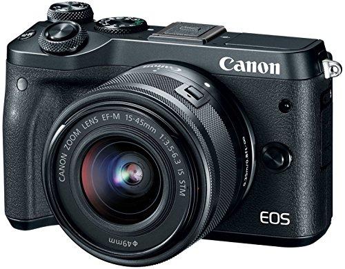 Canon EOS M6 Mirrorless Camera
