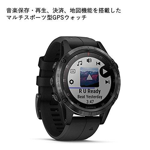 GARMIN(ガーミン)fenix5PlusSapphireBlack音楽再生機能マルチスポーツ型GPSウォッチ最大10日間稼働【日本正規品】