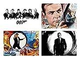 Set 4 Tovagliette James Bond