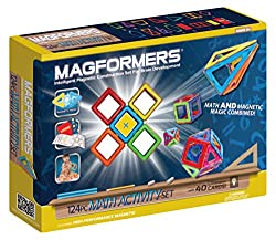MAGFORMERS Math Activity 124 Piece Set Playset