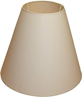 Abażur 500x230x400 mm średnica dolna x średnica górna x wysokość   Wierna imitacja bawełny   Kolor ecru (kremowy)   Stożek...