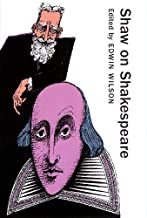 Shaw on Shakespeare (Applause Books)
