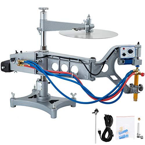 VEVOR Brennschneidemaschine CG2-150 GAS Rohr Schneiden Maschine Schnittstärke 5 mm-100 mm Rohr Brenner Gas Schneidemaschine 50-750 mm/min Fackel Track Burner Cutter