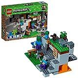 LEGO Minecraft - La grotte du zombie - 21141 - Jeu de Construction