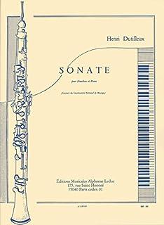 Dutilleux: Sonate Hautbois et Piano