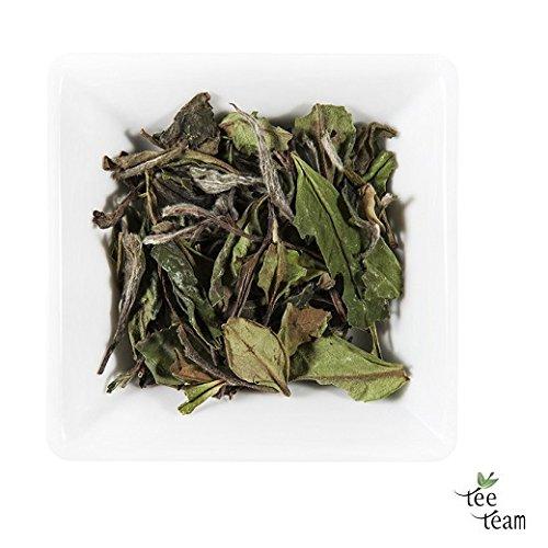 TeeTeam Weißtee, hochwertiger China Weißer Tee Pai Mu Tan, 500 g