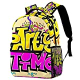 Party Time Mochila Baby Child School Bag Kindergarten Sarga Tela de dibujos animados Monedero
