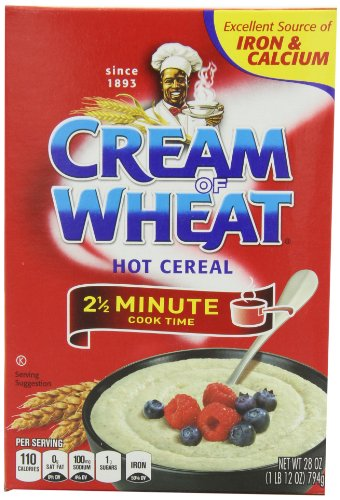 Cream Of Wheat Original Stove Top 2 1/2 minutes, 28-Ounce Boxes (Pack of 4)