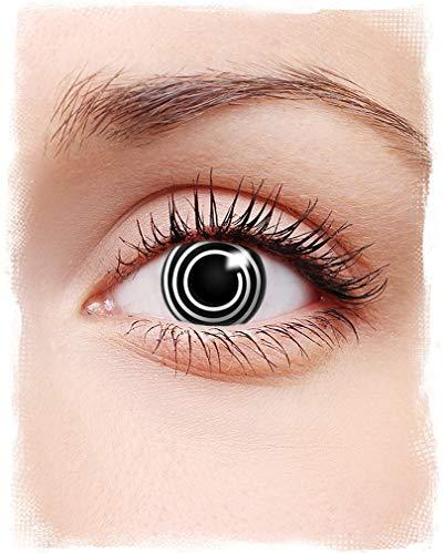Horror-Shop Spiral Motiv-Kontaktlinsen