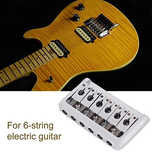 Homyl 1 Set 6 Corde Per Chitarra Elettrica Tremolo Ponte Per Stratocaster Strat